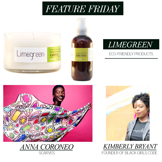 Limegreen, Anna Coroneo and Kimberly Bryant